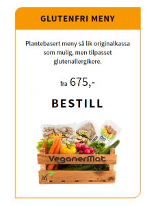 Glutenfri meny - Den grønne kassa